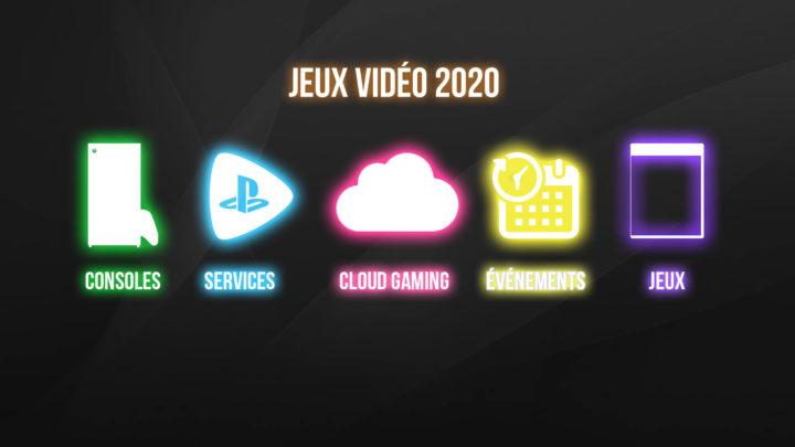 Les changements concernant l'industrie du jeu vidéo pour 2020